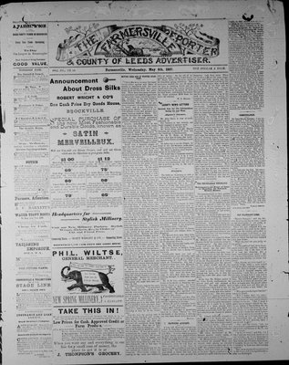 Farmersville Reporter and County of Leeds Advertiser (18840522), 4 May 1887