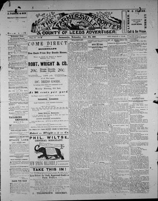 Farmersville Reporter and County of Leeds Advertiser (18840522), 8 Jun 1887