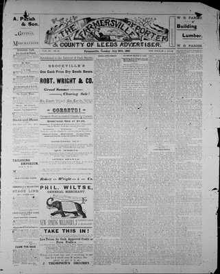 Farmersville Reporter and County of Leeds Advertiser (18840522), 26 Jul 1887