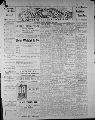 Farmersville Reporter and County of Leeds Advertiser (18840522), 13 Sep 1887