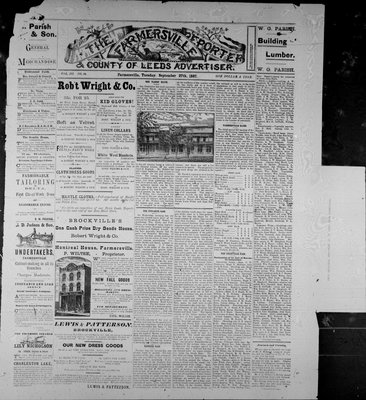 Farmersville Reporter and County of Leeds Advertiser (18840522), 27 Sep 1887