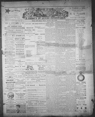 Athens Reporter and County of Leeds Advertiser (18920112), 2 Feb 1892