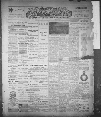 Athens Reporter and County of Leeds Advertiser (18920112), 23 Feb 1892