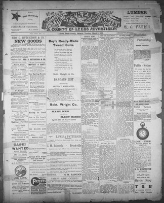 Athens Reporter and County of Leeds Advertiser (18920112), 8 Mar 1892