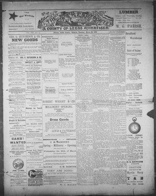 Athens Reporter and County of Leeds Advertiser (18920112), 29 Mar 1892
