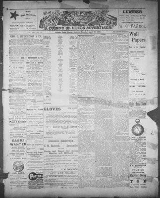 Athens Reporter and County of Leeds Advertiser (18920112), 19 Apr 1892