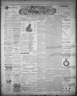 Athens Reporter and County of Leeds Advertiser (18920112), 26 Apr 1892