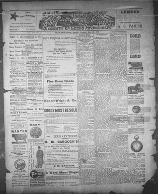Athens Reporter and County of Leeds Advertiser (18920112), 20 Sep 1892