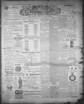 Athens Reporter and County of Leeds Advertiser (18920112), 25 Oct 1892