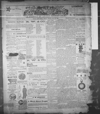 Athens Reporter and County of Leeds Advertiser (18920112), 22 Nov 1892