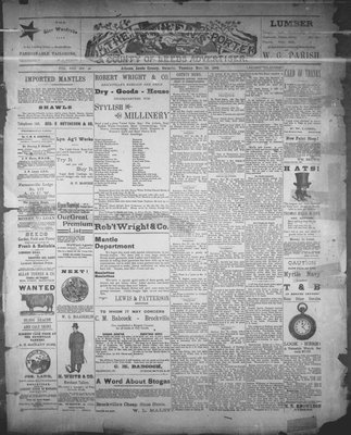 Athens Reporter and County of Leeds Advertiser (18920112), 29 Nov 1892
