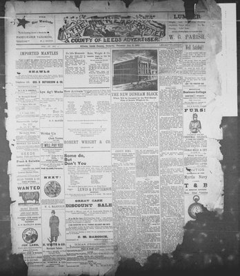 Athens Reporter and County of Leeds Advertiser (18920112), 3 Jan 1893