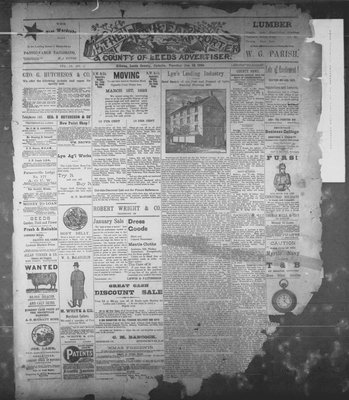 Athens Reporter and County of Leeds Advertiser (18920112), 10 Jan 1893
