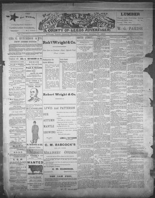 Athens Reporter and County of Leeds Advertiser (18920112), 31 Oct 1893