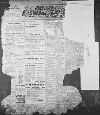 Athens Reporter and County of Leeds Advertiser (18920112), 2 Jan 1894