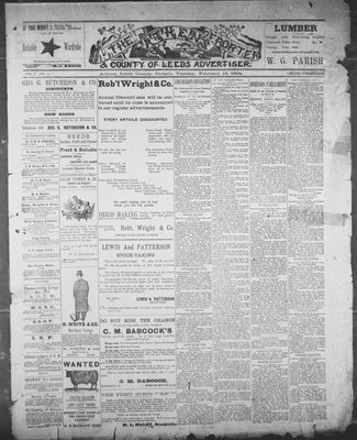 Athens Reporter and County of Leeds Advertiser (18920112), 13 Feb 1894