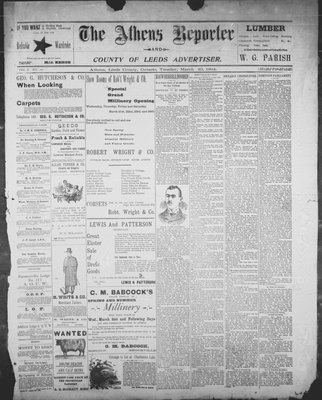 Athens Reporter and County of Leeds Advertiser (18920112), 20 Mar 1894