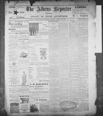 Athens Reporter and County of Leeds Advertiser (18920112), 17 Apr 1894