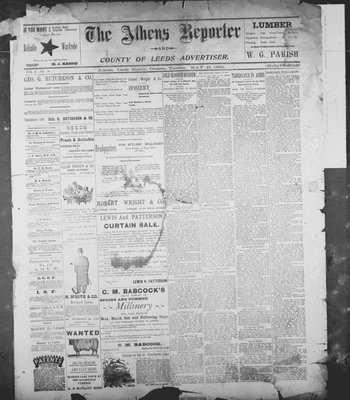 Athens Reporter and County of Leeds Advertiser (18920112), 15 May 1894