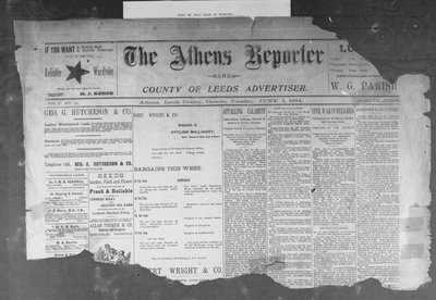 Athens Reporter and County of Leeds Advertiser (18920112), 5 Jun 1894