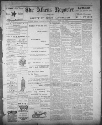 Athens Reporter and County of Leeds Advertiser (18920112), 17 Jul 1894
