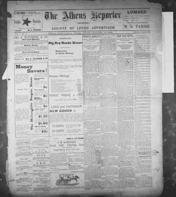 Athens Reporter and County of Leeds Advertiser (18920112), 18 Sep 1894