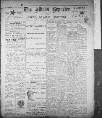 Athens Reporter and County of Leeds Advertiser (18920112), 2 Oct 1894