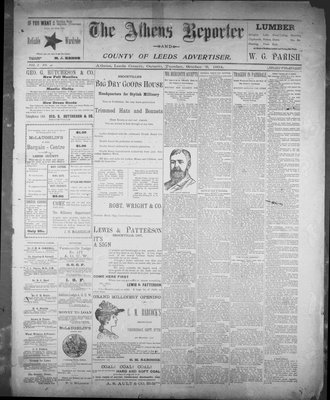 Athens Reporter and County of Leeds Advertiser (18920112), 9 Oct 1894