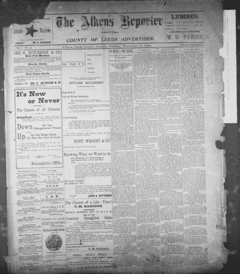Athens Reporter and County of Leeds Advertiser (18920112), 13 Nov 1894