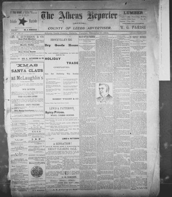 Athens Reporter and County of Leeds Advertiser (18920112), 18 Dec 1894