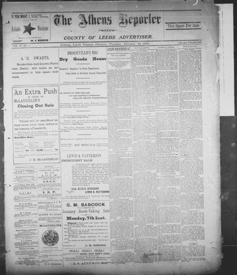 Athens Reporter and County of Leeds Advertiser (18920112), 22 Jan 1895