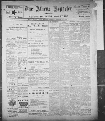Athens Reporter and County of Leeds Advertiser (18920112), 19 Feb 1895