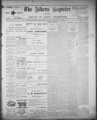 Athens Reporter and County of Leeds Advertiser (18920112), 5 Mar 1895