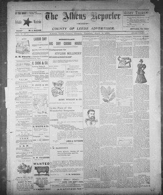 Athens Reporter and County of Leeds Advertiser (18920112), 9 Apr 1895