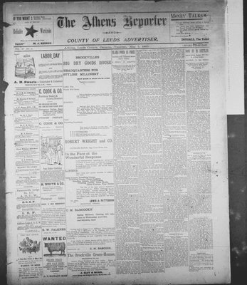 Athens Reporter and County of Leeds Advertiser (18920112), 7 May 1895