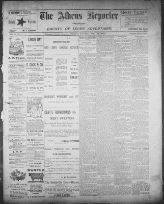 Athens Reporter and County of Leeds Advertiser (18920112), 21 May 1895