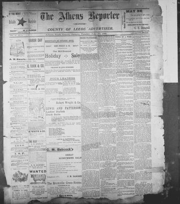 Athens Reporter and County of Leeds Advertiser (18920112), 30 Jul 1895