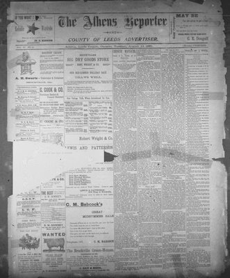 Athens Reporter and County of Leeds Advertiser (18920112), 13 Aug 1895