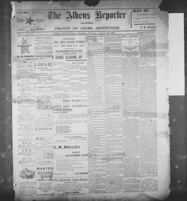 Athens Reporter and County of Leeds Advertiser (18920112), 20 Aug 1895