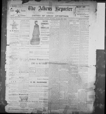 Athens Reporter and County of Leeds Advertiser (18920112), 29 Oct 1895