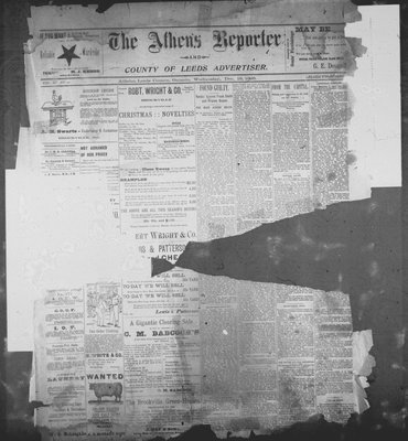 Athens Reporter and County of Leeds Advertiser (18920112), 18 Dec 1895