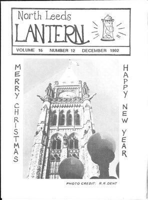 Northern Leeds Lantern (1977), 1 Dec 1992