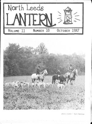 Northern Leeds Lantern (1977), 1 Oct 1987