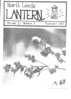 Northern Leeds Lantern (1977), 1 Feb 1987