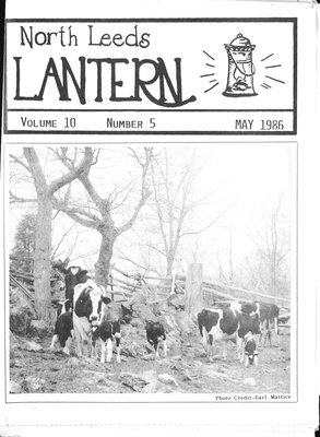 Northern Leeds Lantern (1977), 1 May 1986