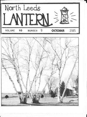 Northern Leeds Lantern (1977), 1 Oct 1985