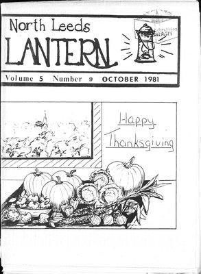 Northern Leeds Lantern (1977), 1 Oct 1981