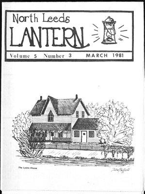 Northern Leeds Lantern (1977), 1 Mar 1981