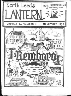 Northern Leeds Lantern (1977), 1 Nov 1978