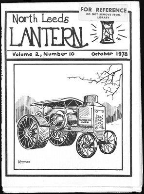 Northern Leeds Lantern (1977), 1 Oct 1978